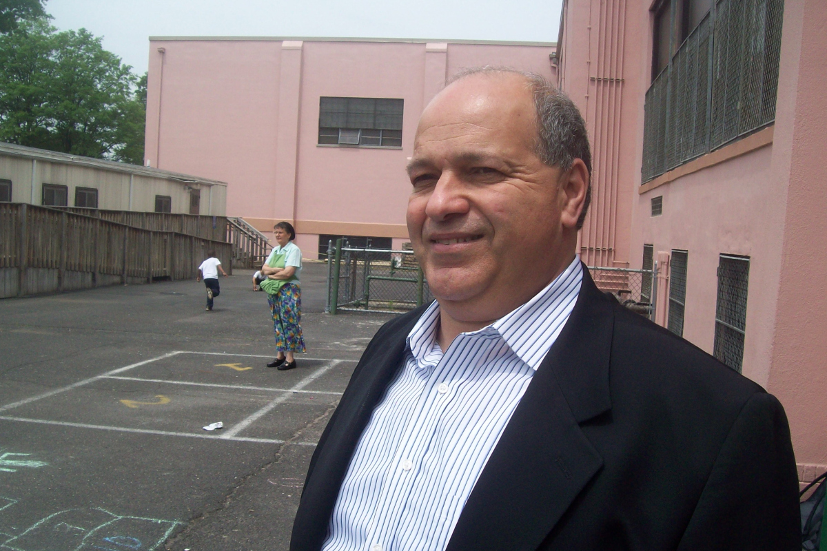 Rafael Fajardo is the former president of Elizabeth's Board of Education.