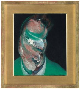 Francis Bacon Study for Head of Lucian Freud, 1967.
