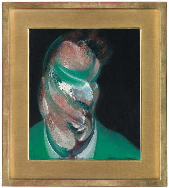 Francis Bacon Study of Lucian Freud