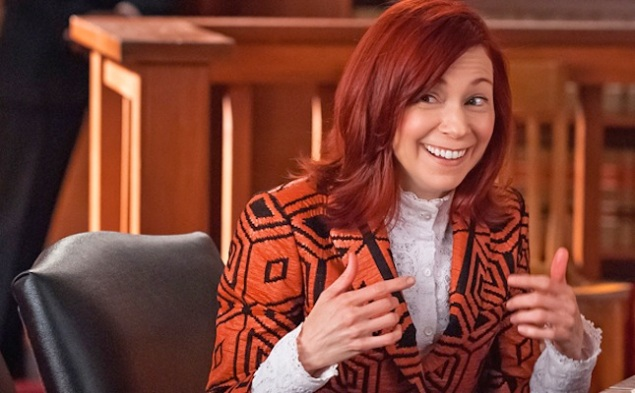 Carrie Preston and her wonderful world on The Good Wife.