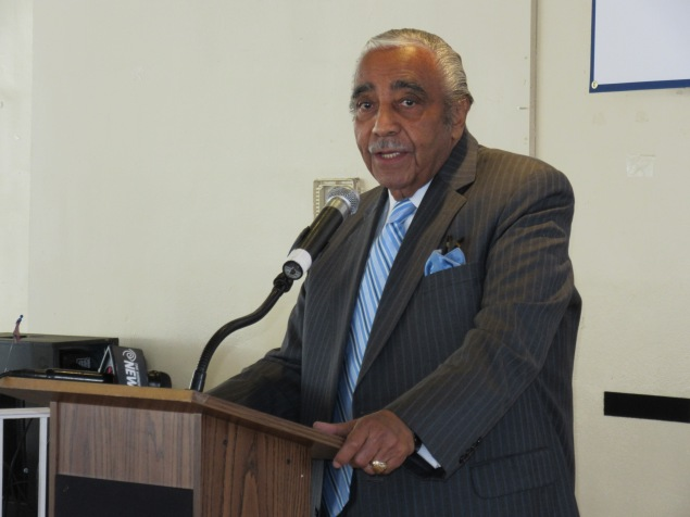 Charles Rangel (Photo: Will Bredderman).