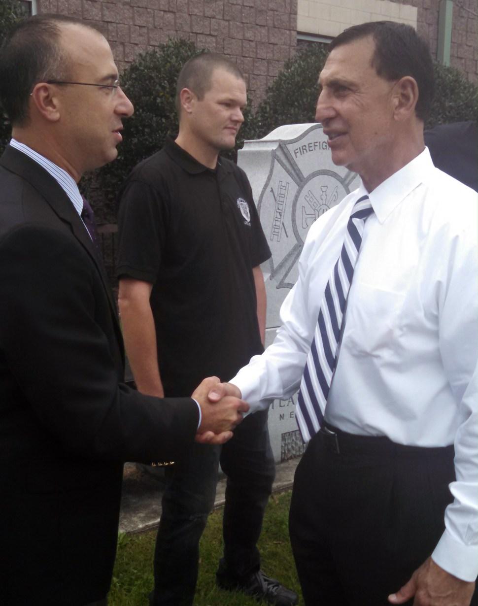 Lobiondo and Nixon of the state PBA.
