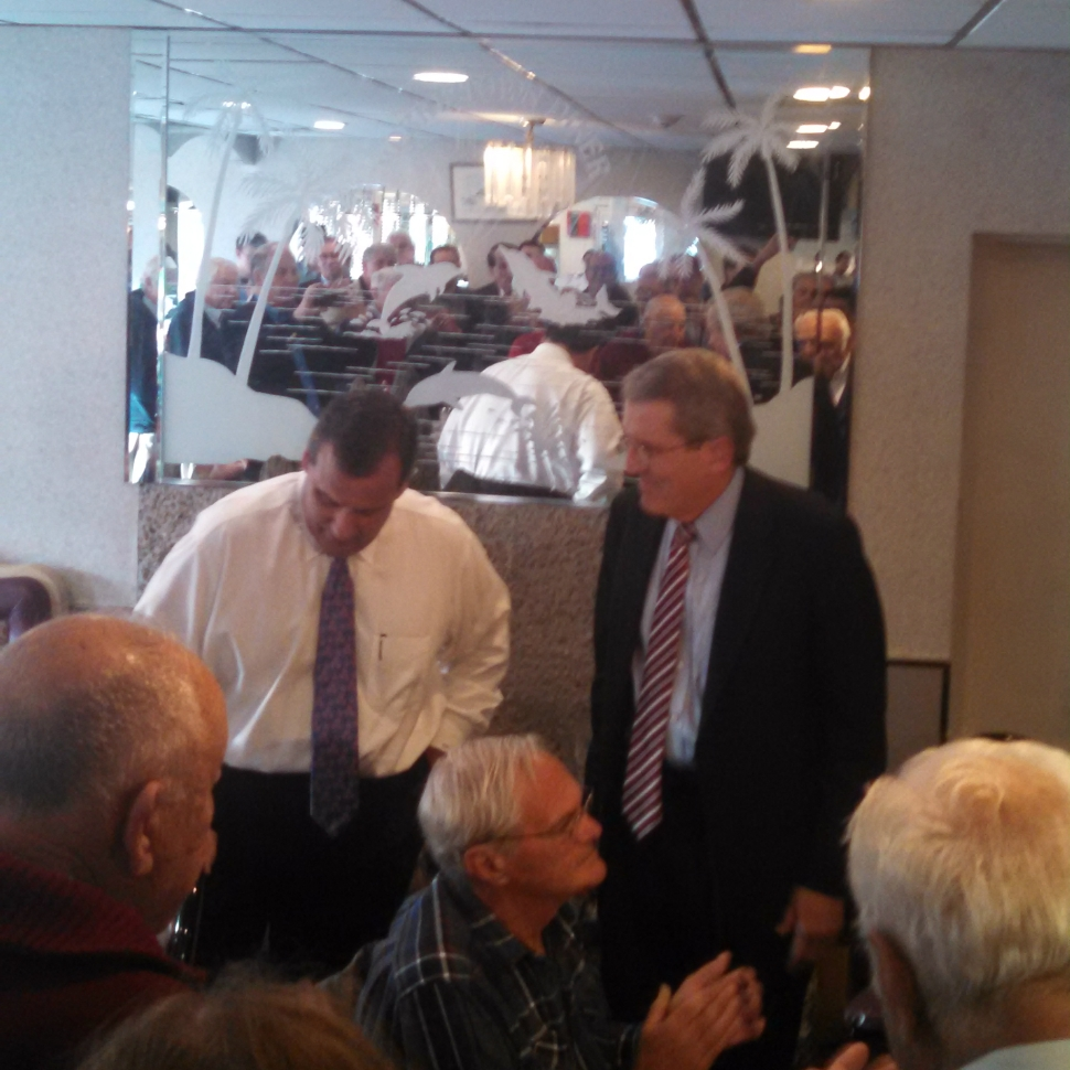 Christie joins Bell in Morristown.