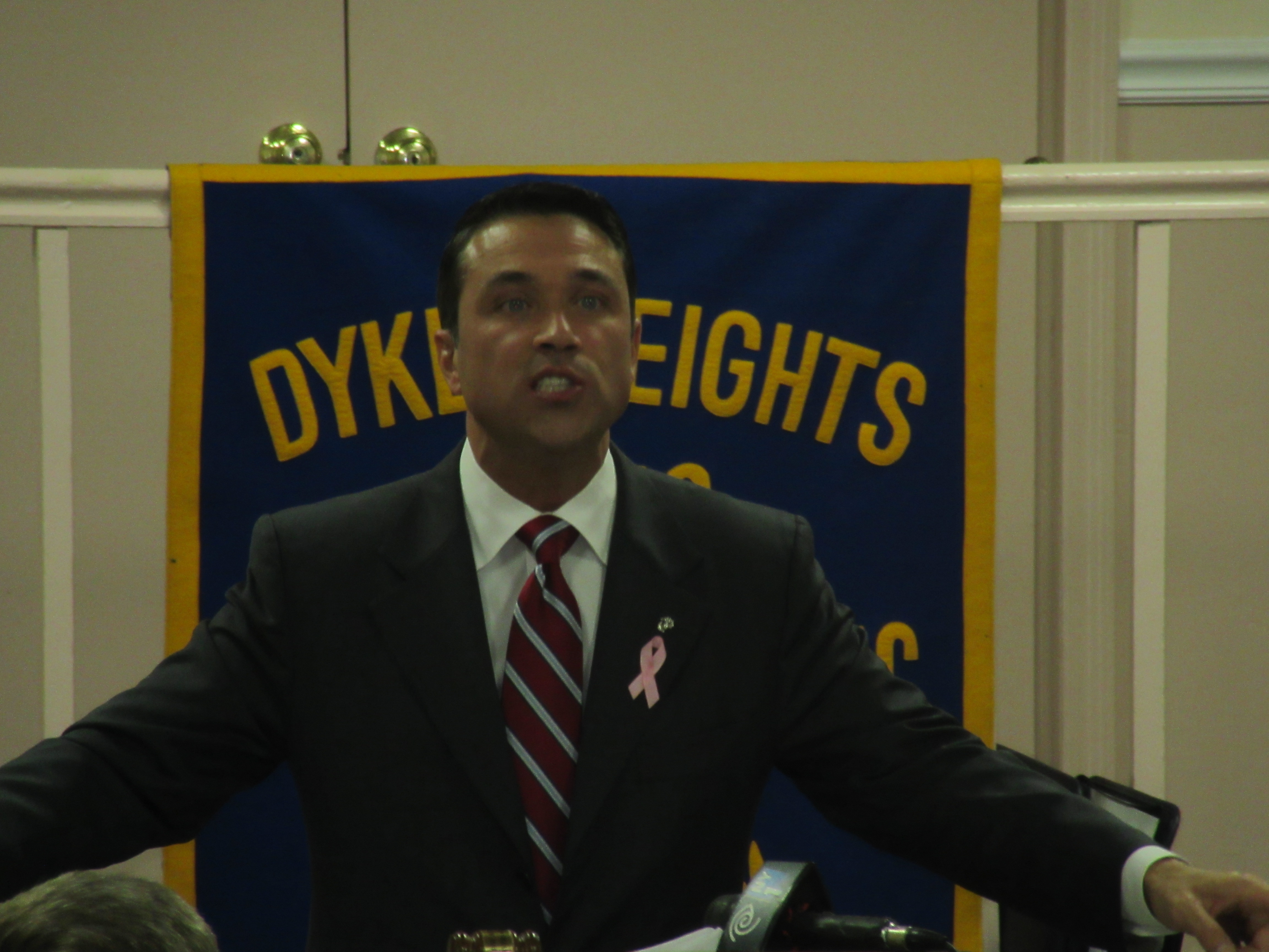 Congressman Michael Grimm (Photo: Will Bredderman).