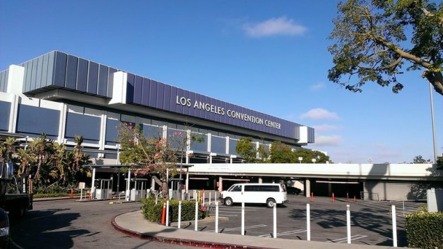 The World Wide Art Fair was held at the Los Angeles Convention Center.