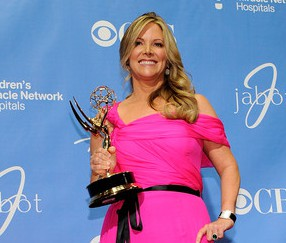 Maria Arena Bell at the 38th Annual Daytime Emmy Awards