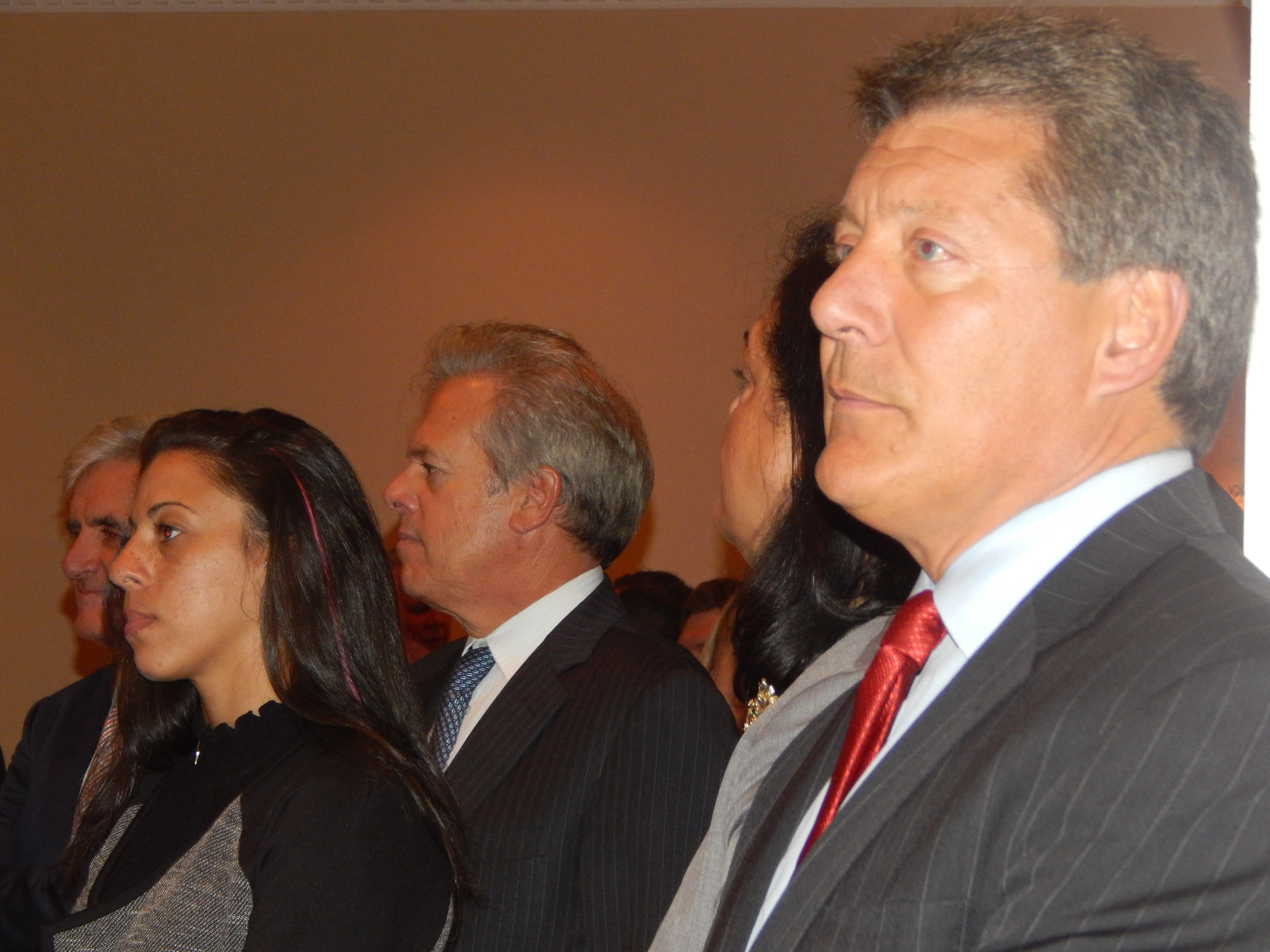 Assemblyman John McKeon (D-27), right.