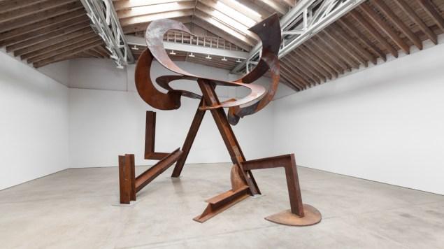 Luney Breakout (2013) by Mark di Suvero. ( Steven Probert /Courtesy Paula Cooper Gallery, New York)