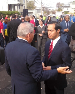 """He's the only Castro I like,"" Menendez says."