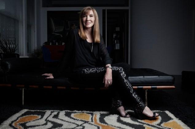 Nicole Miller in her home. (Photo by Celeste Sloman/New York Observer)