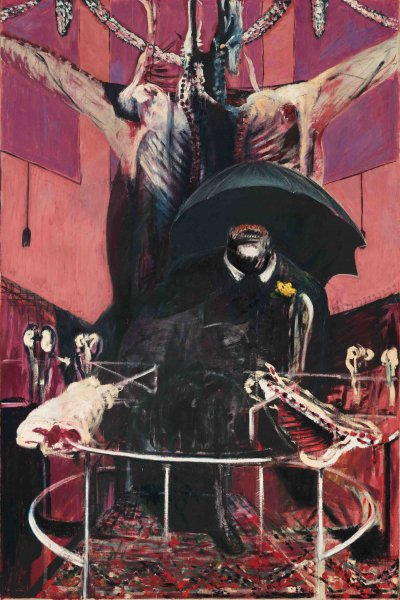 Francis Bacon's 'Painting' (1946), which he sold in order to have the cash to move to Monaco. (Courtesy the Francis Bacon MB Art Foundation)
