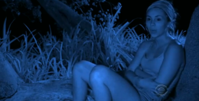 29 season into the show, Baylor finally realizes people on Survivor don't always tell the truth.
