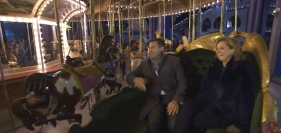 Remember that time Bruce rented out a theme park for Chyka because he's the best guy EVER?