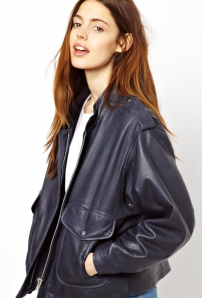 Asos leather jacket.