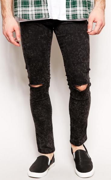 ASOS jeans.