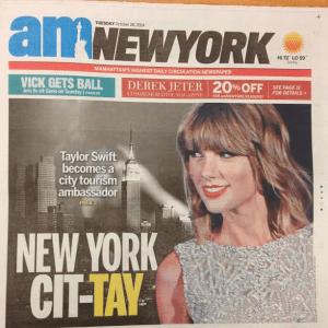 Taylor Swift AM New York