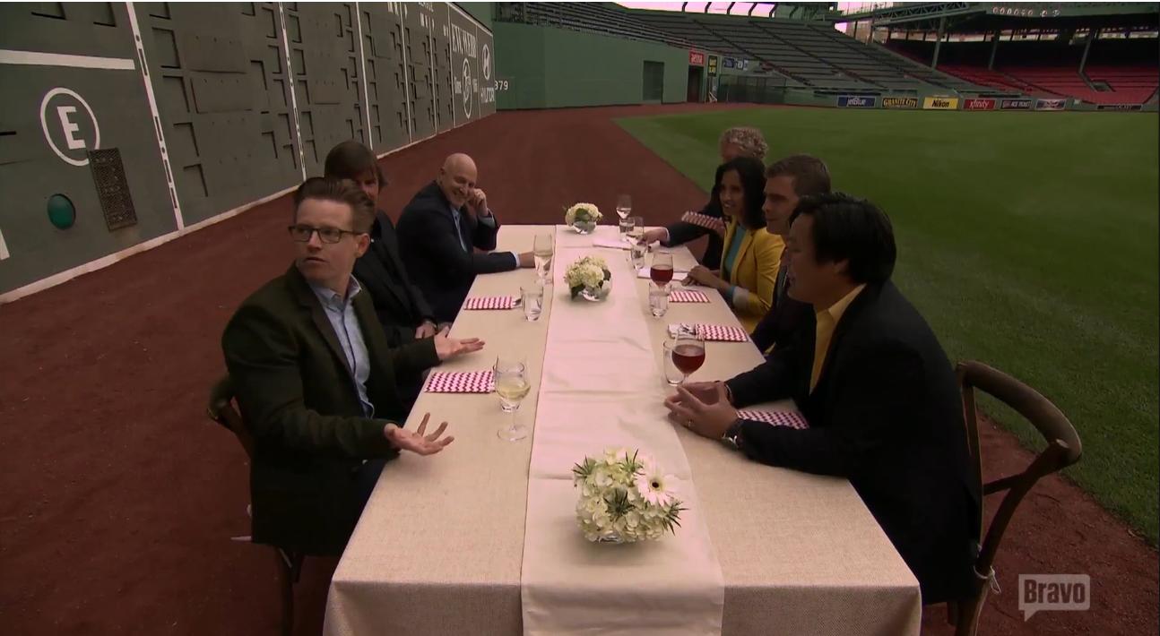 Top Chef goes to Fenway Park. (Screenshot: Bravo)