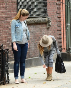 Celebrity Sightings In New York City - October 02, 2014