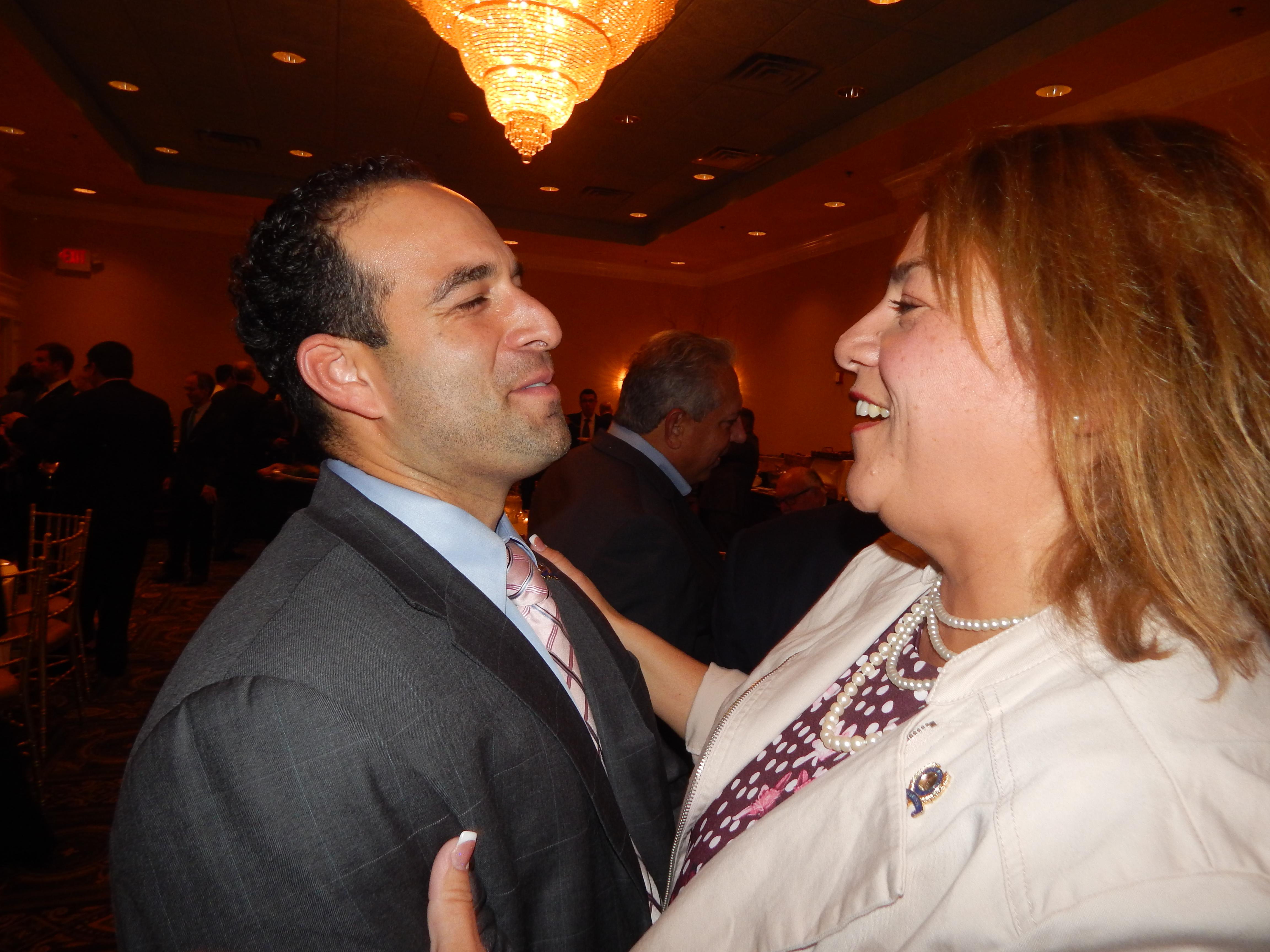 Assemblyman Carmelo Garcia (D-33) and Assemblywoman Angelica Jimenez (D-32)