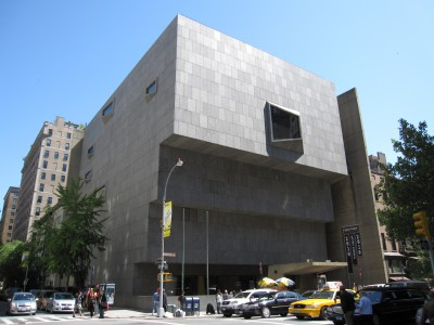 The Whitney Museum of American Art on Madison Avenue.