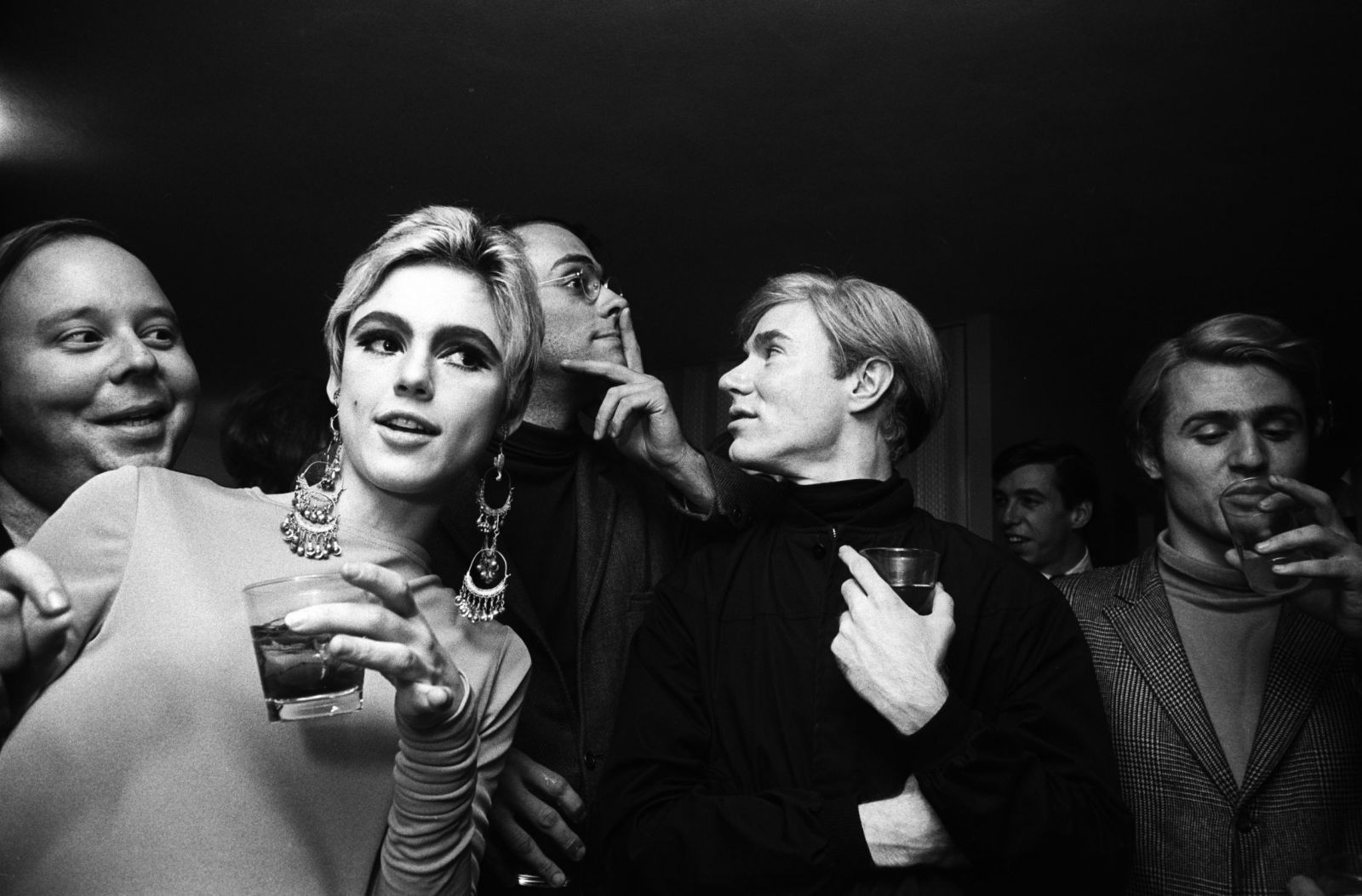 Edie Sedgwick and Andy Warhol, by Billy Name.
