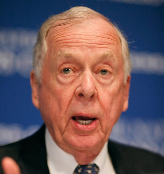 T. Boone Pickens (Photo by Chip Somodevilla/Getty Images)
