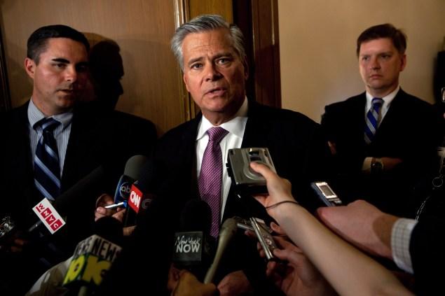 State Senator Dean Skelos, the Republican majority leader. (Photo:  Matthew Cavanaugh/Getty Images)