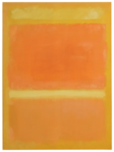 Mark Rothko, Untitled (Yellow, Orange, Yellow, Light Orange)