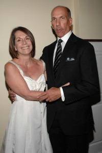 Robert Sillerman, right, with his wife, Laura Baudo Sillerman. (Patrick McMullan)