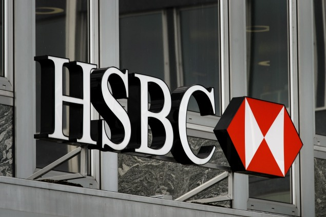 HSBC was fined $1.9 billion with a settlement with the Justice Department in 2012. (Photo by FABRICE COFFRINI/AFP/Getty Images)