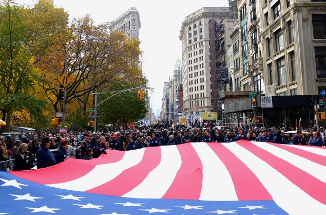 New York's Veterans Day Parade 2013 (Getty Images)