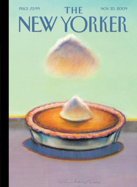 New Yorker cover, November 2009