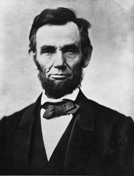 President Lincoln (Photo from Library of Congress)