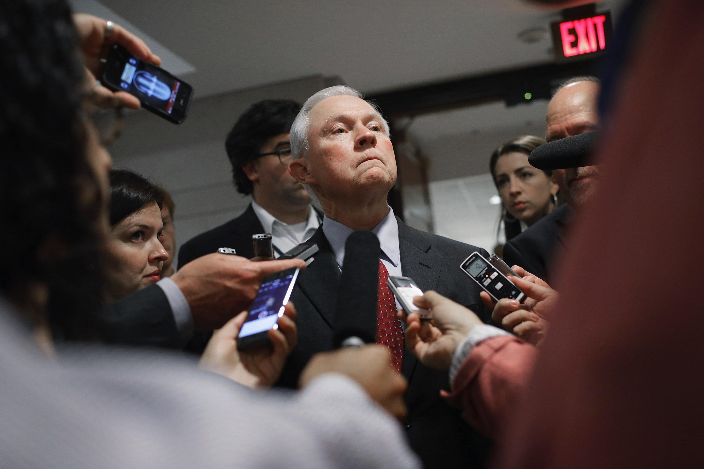 Alabama Sen. Jeff Sessions.
