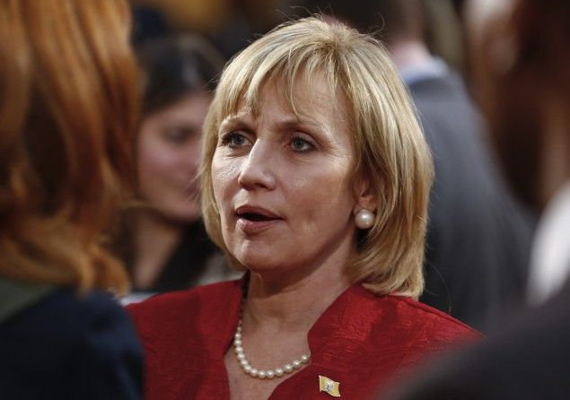 Lieutenant Governor Kim Guadagno stands to benefit from any dramatic turns in the Bridgegate trial.