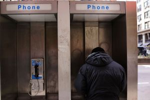 New York City plans to convert is neglected payphones into free wifi hotspots (Spencer Platt/Getty Images).