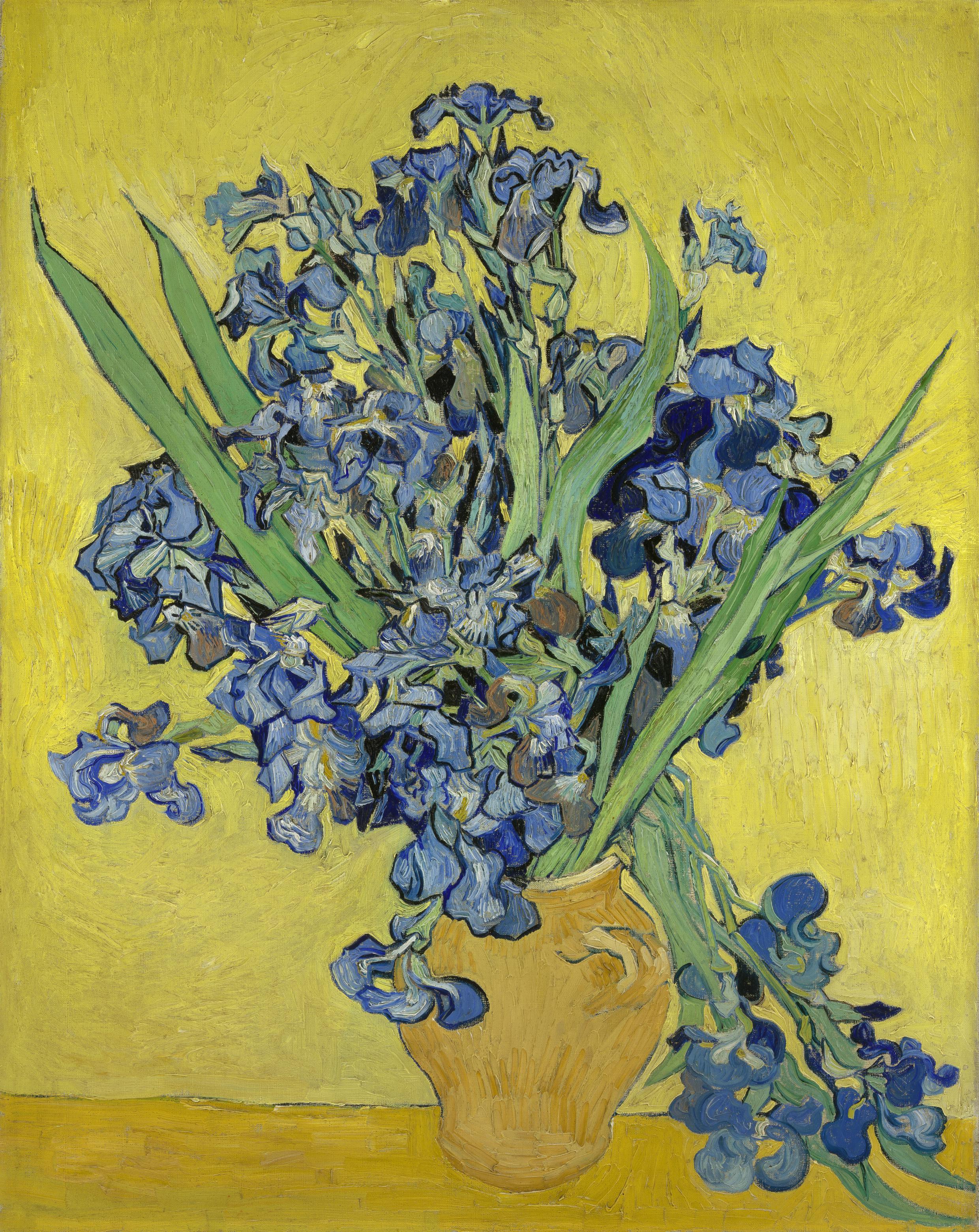 Irises, Vincent van Gogh, (1890). (Courtesy the Van Gogh Museum)