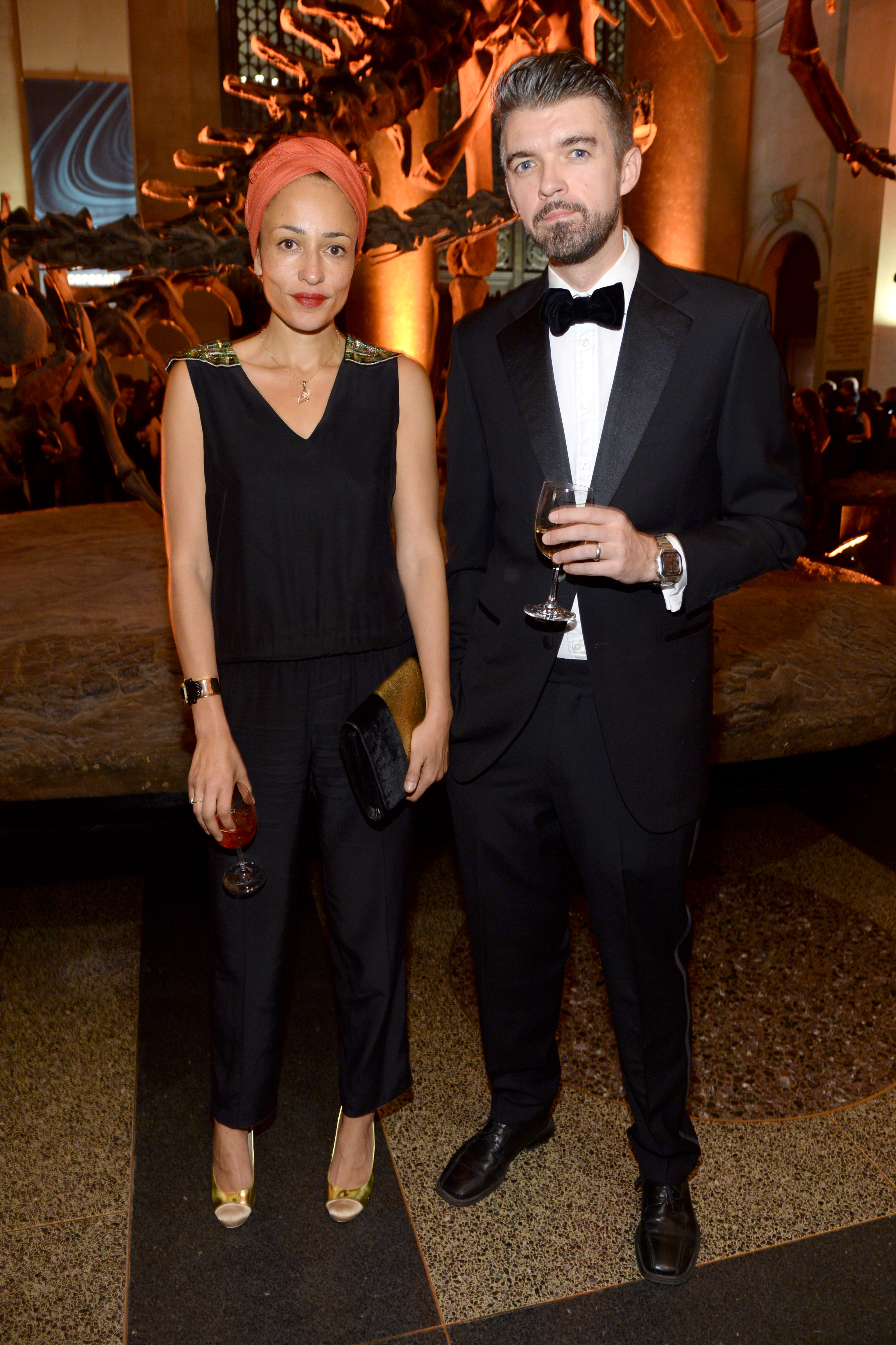 The couple at the American Museum of Natural History gala. (Photo by Clint Spaulding/PatrickMcMullan.com)