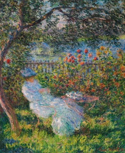Claude Monet, Alice Hoschedé au jardin