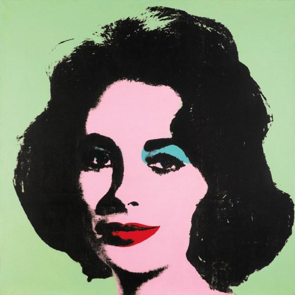 Andy Warhol, Liz #3