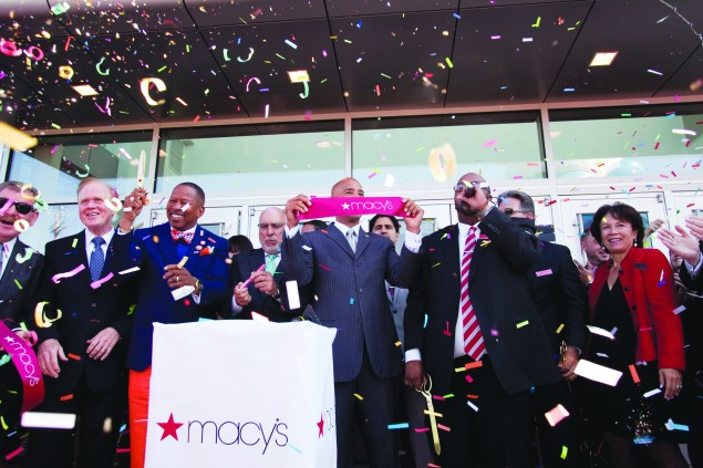 Ribbon Cutting Ceremony at Macy's in the Bronx, 2014