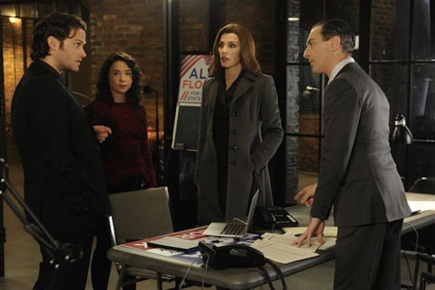 """The Good Wife's """"winter finale."""" (CBS)"""