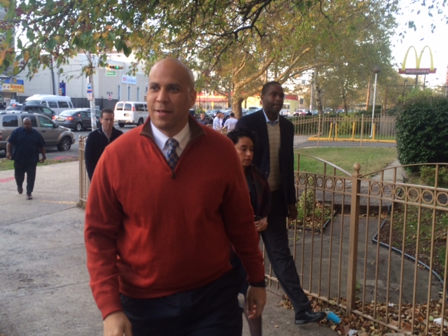 Cory Booker has convened two meeting with Jewish supporters for Tuesday, Sept 8th.