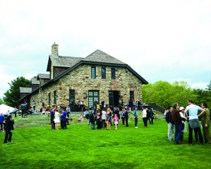 The barn at the Brant Foundation (Courtesy  Sotheby's)