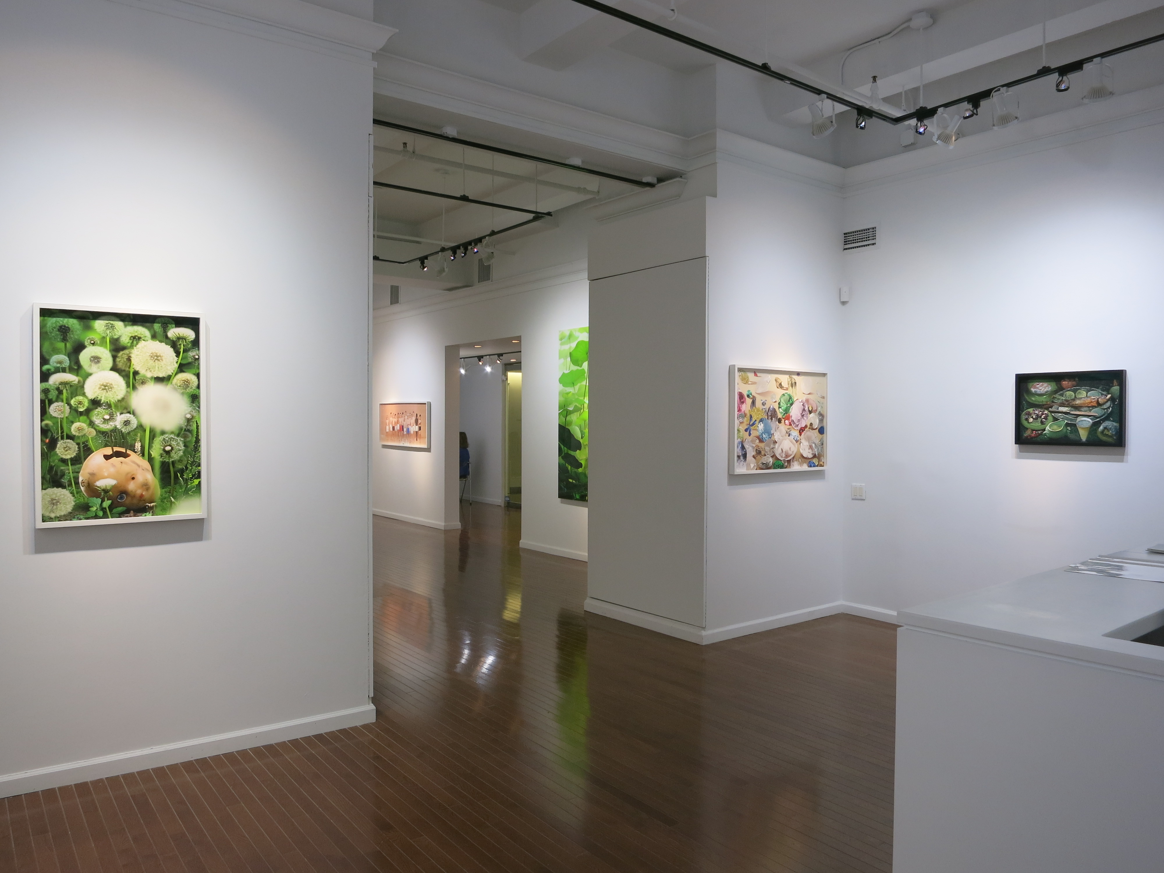 """The gallery is currently showing Ruud Van Empel's """"Identities"""" through December 20. (Courtesy Stux + Haller)"""