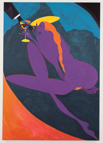 Confession (Lady Chancellor), 2007, by Chris Ofili.  (Courtesy of the artist and David Zwirner)