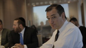 Ted Cruz spoke about Israel and 2016 presidential prospects.