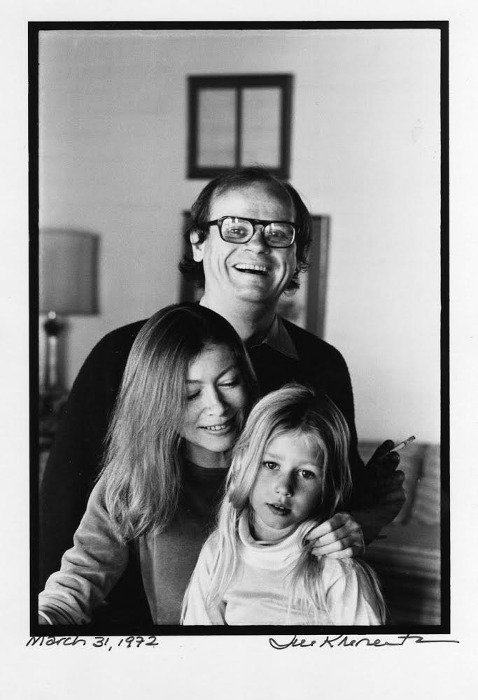 Joan Didion and her family (Photo by Jill Krementz)