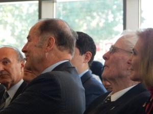 Former governors Tom Kean and Brendan Byrne.