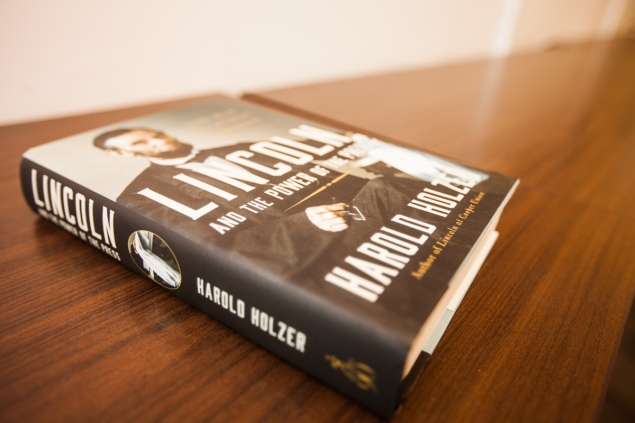 Lincoln Book PHOTO: Emily Assiran/New York Observer